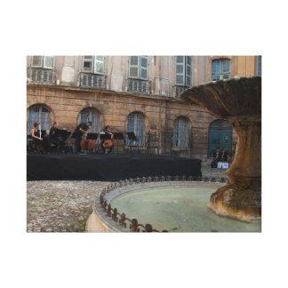 Aix-en-Provence envolvió la lona Impresión En Lona Estirada