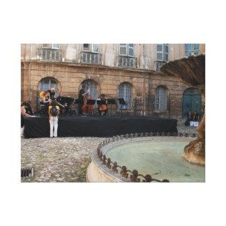 Aix-en-Provence envolvió la lona Impresiones En Lona Estiradas