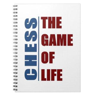 Ajedrez el juego de la vida cuadernos