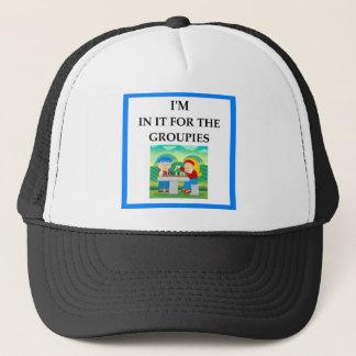 ajedrez gorra de camionero