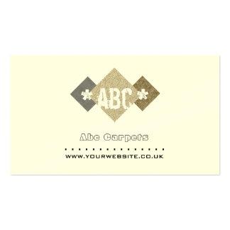 Ajustador de la alfombra/una tarjeta de visita más