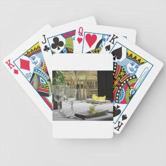 Ajuste de la tabla para el navidad o el otro cartas de juego