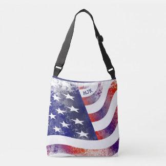 Ajuste Orgullo-Azul americano Bolso Cruzado