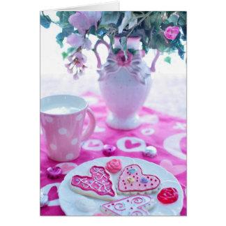 Ajustes hermosos de la tabla de la tarjeta del día