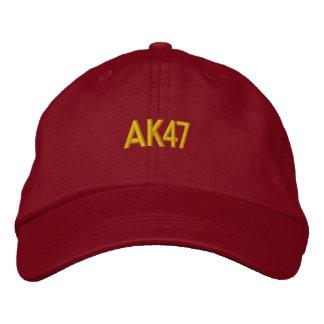ak47 bordó el gorra gorras de béisbol bordadas