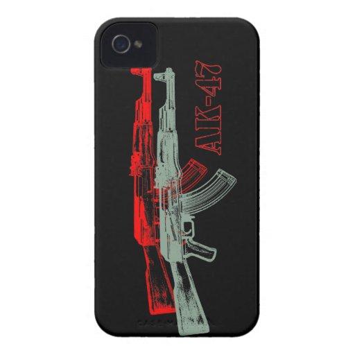 AK 47 iPhone 4 Case-Mate CÁRCASA