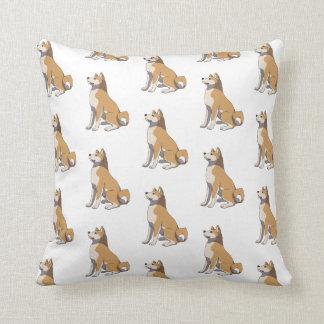 Akita Inu pillow Cojín Decorativo