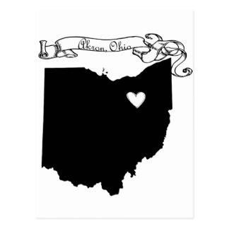 Akron Ohio Tarjetas Postales