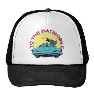Al Batmobile - icono apenado Gorros Bordados