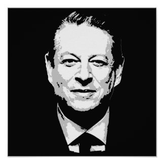 Al Gore hace frente Póster