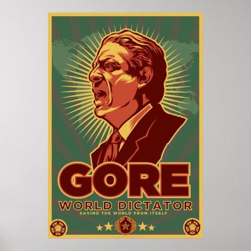 Al Gore para dictador Poster - modificado para req