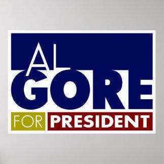 Al Gore para presidente Poster V1