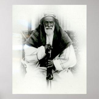 Al Khalifah del AIA Ibn Ali Póster