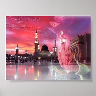 Al-Nabawi del al-Masjid Poster