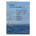Al papá, en su cumpleaños felicitaciones