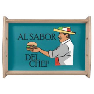 AL sabor del chef Bandejas