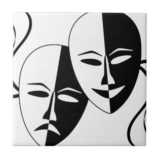 ¡Al teatro! Azulejo Ceramica