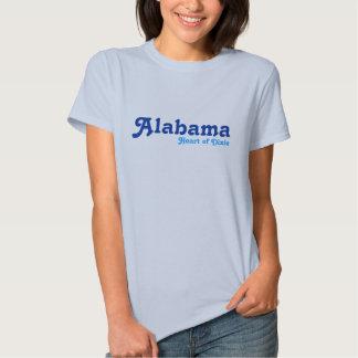 Alabama, corazón de Dixie Camisetas