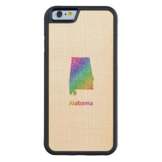 Alabama Funda Protectora De Arce Para iPhone 6 De Carved