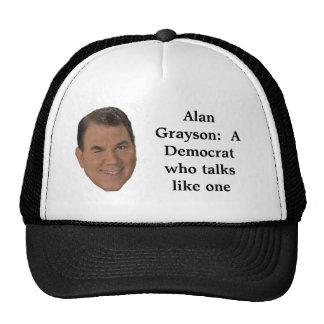 Alan Grayson:  Un Demócrata que tal… Gorras
