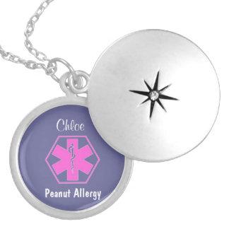 Alarma alerta médica adaptable de la alergia del c pendiente