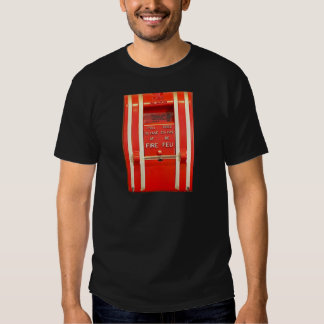 Alarma de incendio camisas