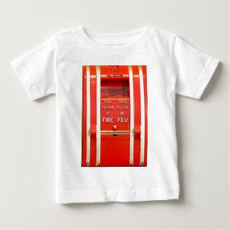 Alarma de incendio camiseta de bebé