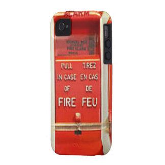 Alarma de incendio iPhone 4 fundas