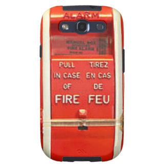 Alarma de incendio galaxy SIII cárcasa