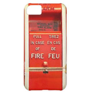 Alarma de incendio funda para iPhone 5C