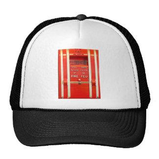 Alarma de incendio gorra