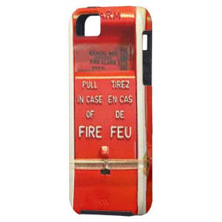 Alarma de incendio iPhone 5 Case-Mate carcasa