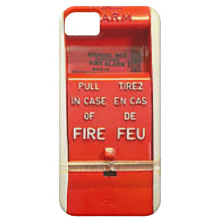 Alarma de incendio iPhone 5 Case-Mate funda