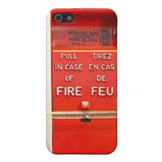 Alarma de incendio iPhone 5 protectores