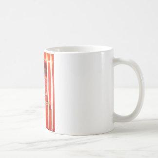 Alarma de incendio taza de café
