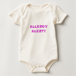 Alarma de la alergia body para bebé