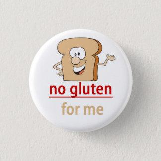 Alarma de la alergia del gluten chapa redonda de 2,5 cm