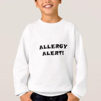 Alarma de la alergia sudadera