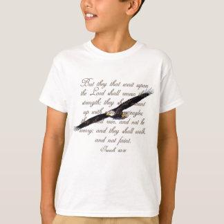 Alas como Eagles, biblia del cristiano del 40:31 Camiseta
