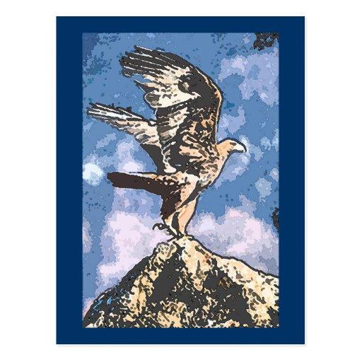 Alas de Eagles - 40:31 de Isaías Tarjeta Postal