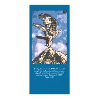 Alas de Eagles - 40:31 de Isaías Tarjeta Publicitaria