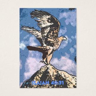 Alas de Eagles - de Isaías del 40:31 de la zona Tarjeta De Negocios