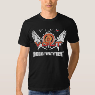 Alas de la energía de voltio camisetas
