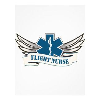 alas de la enfermera del vuelo tarjetas informativas