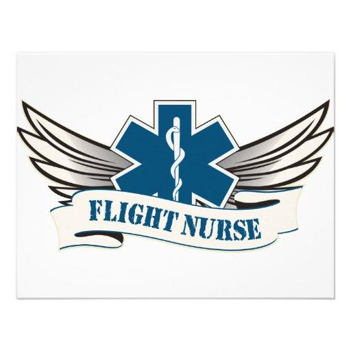 alas de la enfermera del vuelo comunicados personalizados