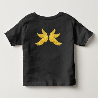 Alas de oro del arcángel de Falln Camiseta De Bebé