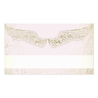 Alas del ángel, cristiano, espiritual, tarjetas de tarjetas de visita