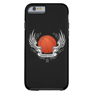 Alas del baloncesto funda para iPhone 6 tough