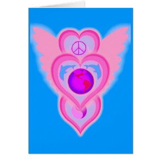 alas del delfín del amor hoy tarjeta de felicitación