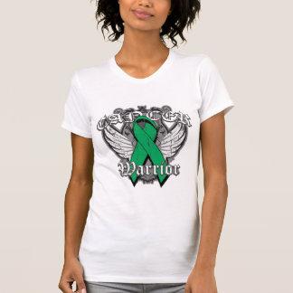 Alas del vintage del guerrero - cáncer de hígado camiseta